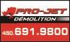 Pro-Jet Démolition Logo